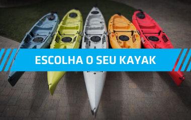 Escolha o seu Kayak