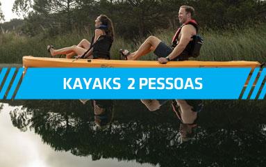 Kayaks 2 pessoas