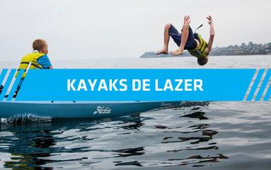 Kayaks de lazer