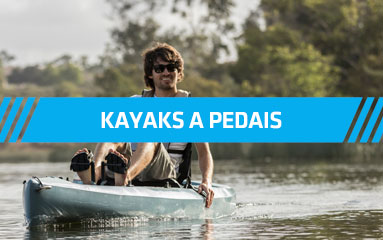 Kayaks a pedais
