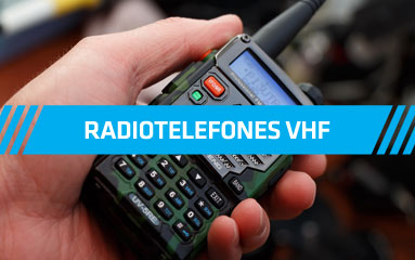 Radiotelefones VHF