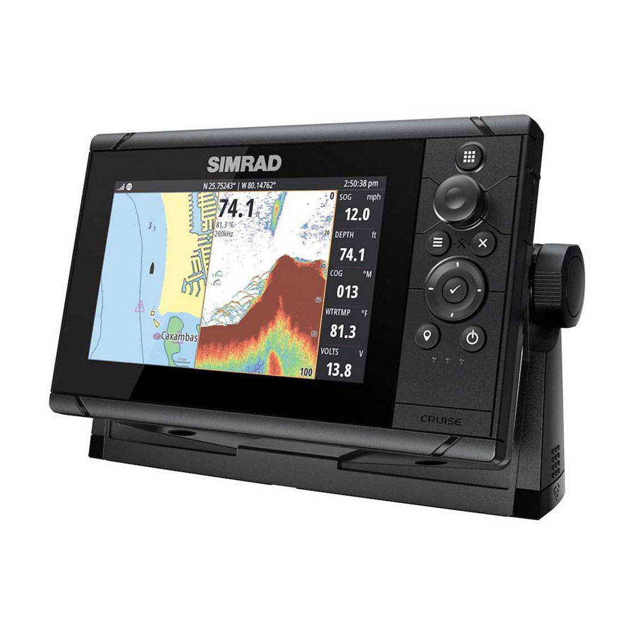 "Sonda GPS Plotter SIMRAD CRUISE 7, <strong> <span style=""color: #00bce4;"">529,00€ com IVA</span></strong>"